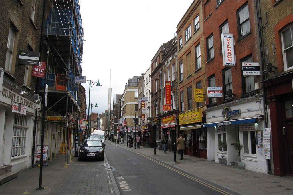 Brick Lane, Banglatown, Whitechapel, East London