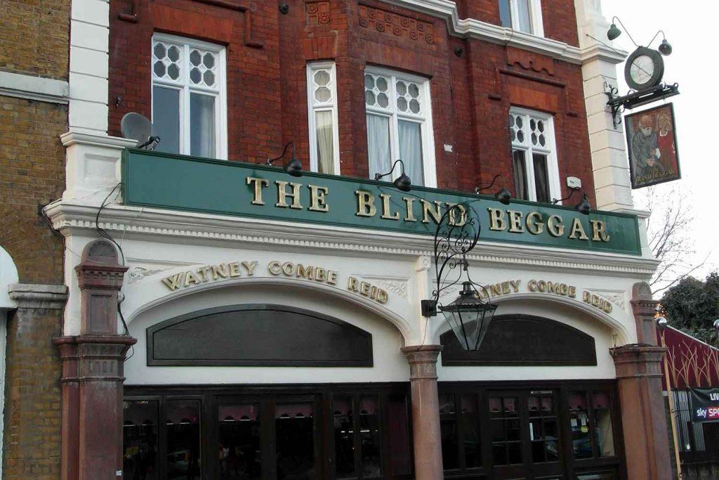 The Blind Beggar pub, Whitechapel Road, East London