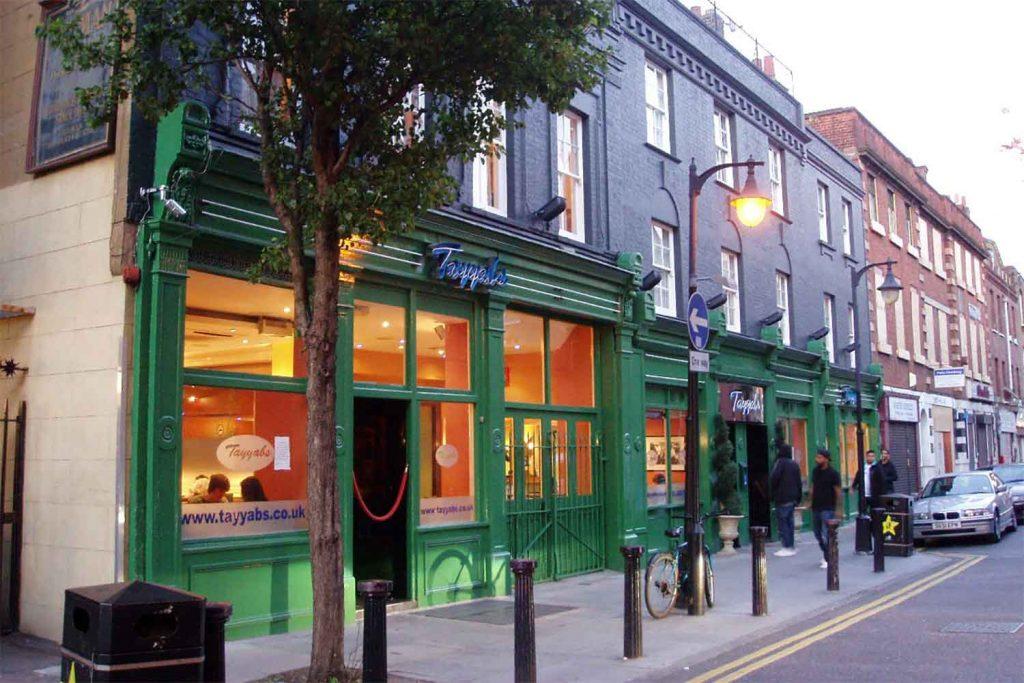 Tayyabs Punjabi restaurant in Whitechapel, East London