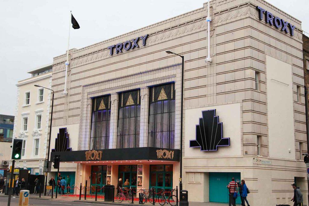 Troxy music hall, Commercial Road, Whitechapel, East London