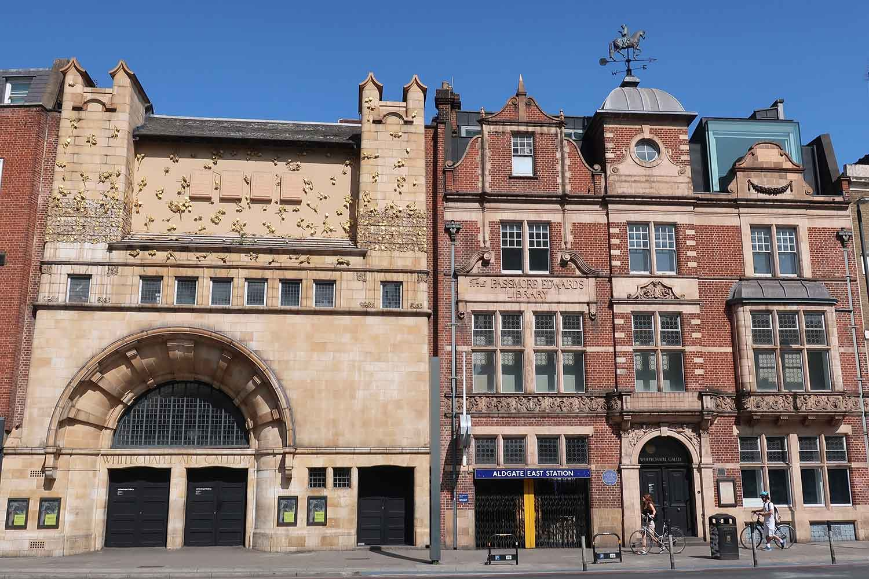Whitechapel Gallery on Whitechapel High Street, East London