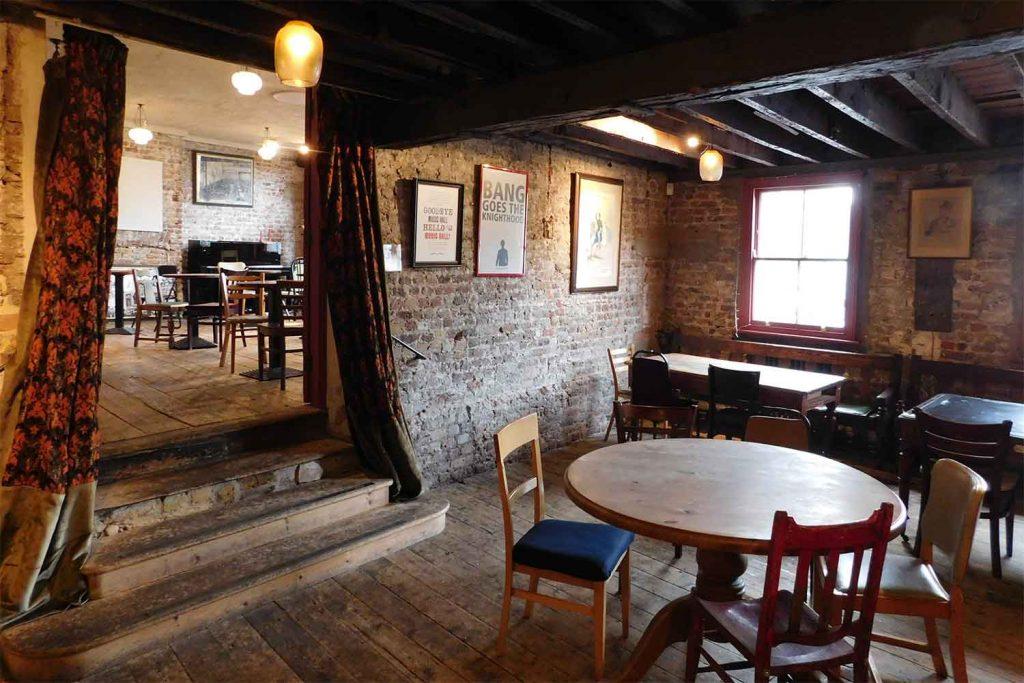 Wilton's Music Hall Mahogany Bar, Whitechapel, East London