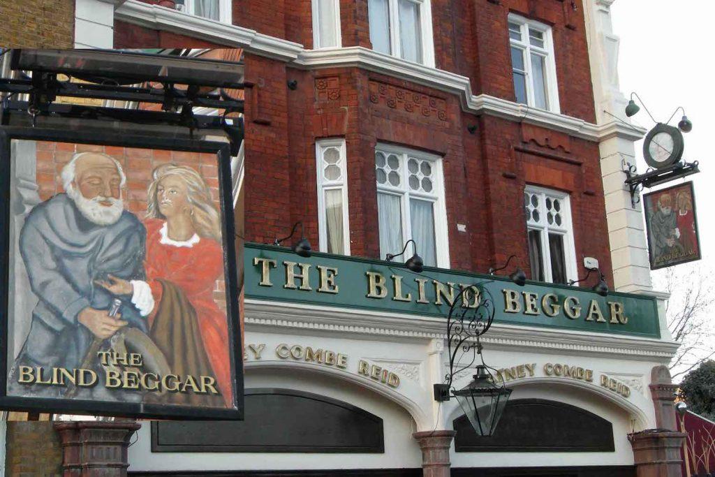 The Blind Beggar pub, Whitechapel, East London