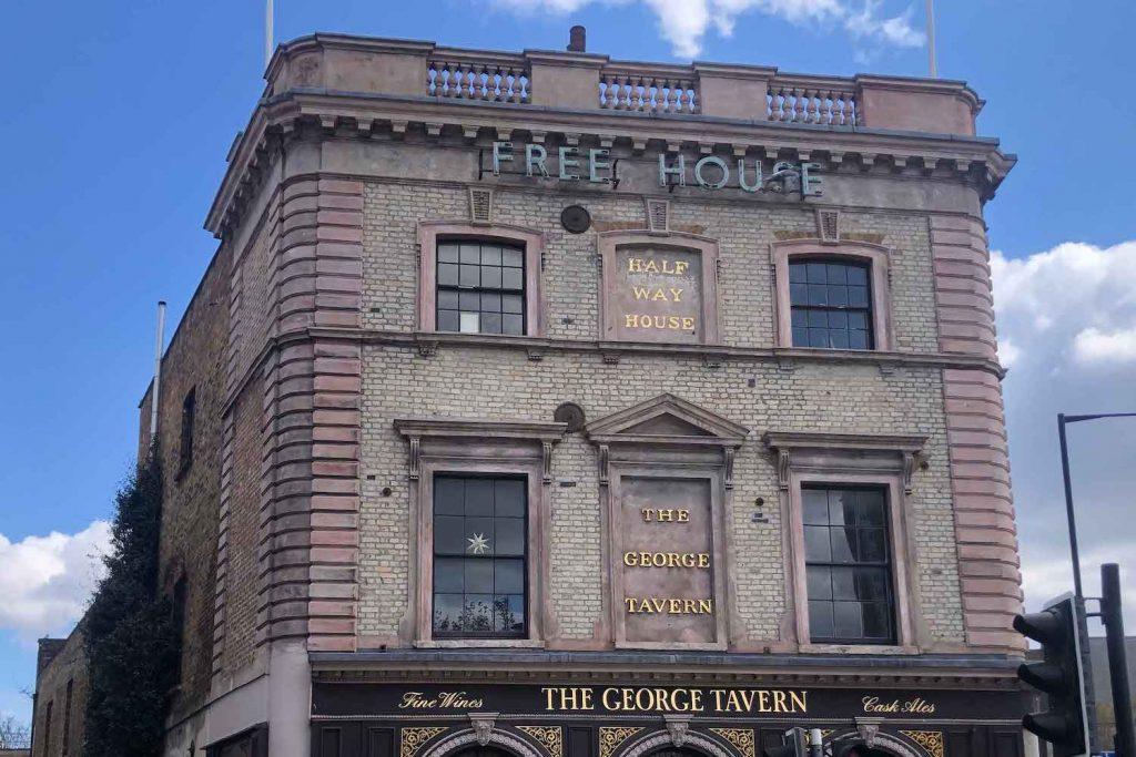 The George Tavern, Whitechapel, East London