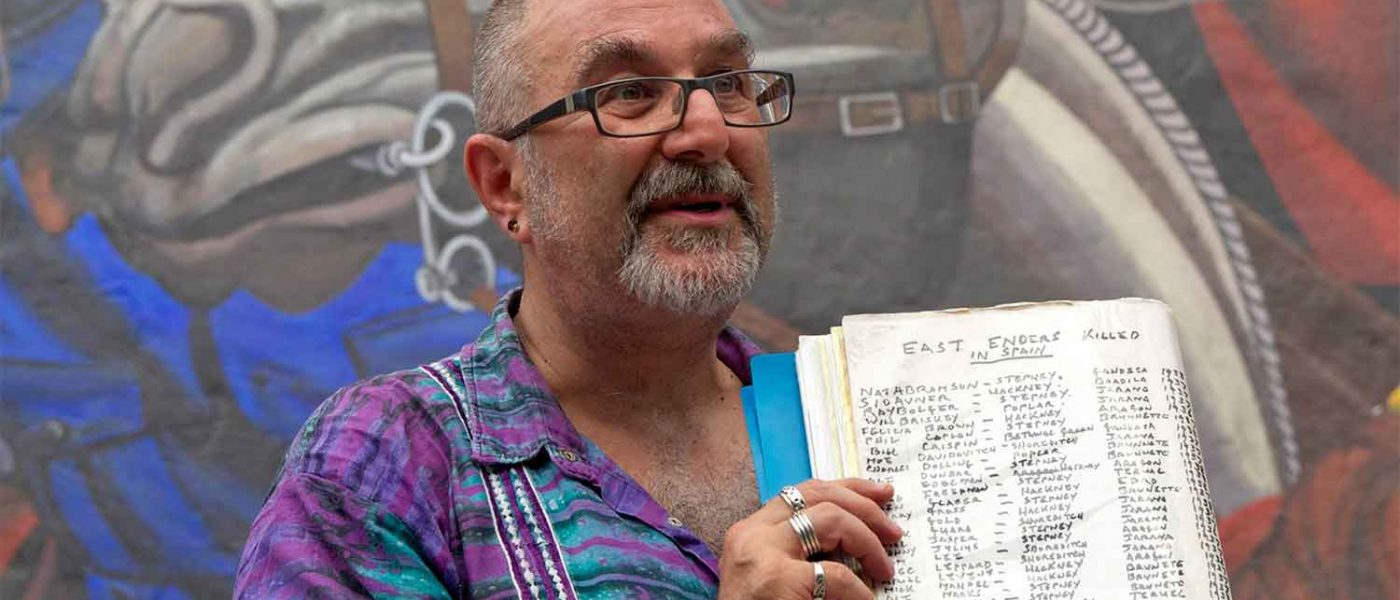 """""""Like ghosts coming back to life"""": An interview with East End historian David Rosenberg"""