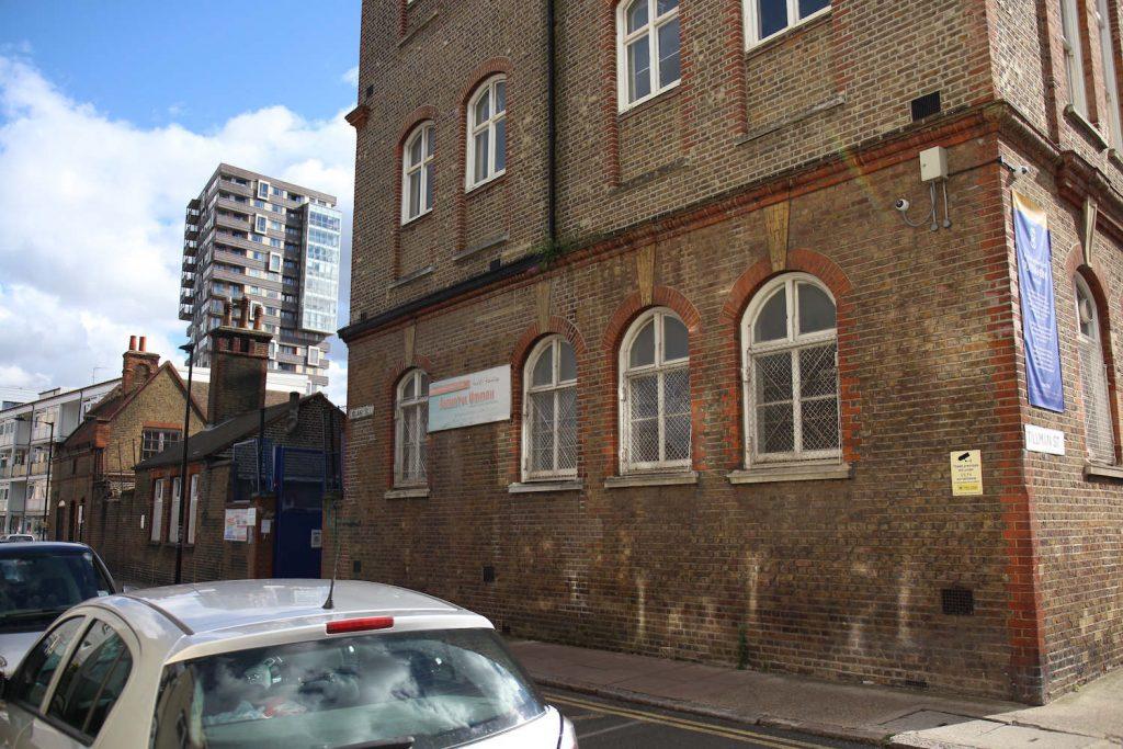 The Darul Ummah Masjid mosque is located on Bigland Street, Whitechapel, East London.