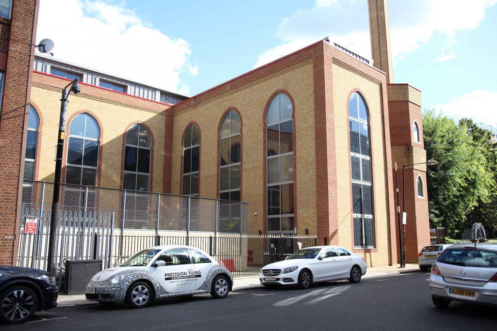 The Esha Atul Islam Mosque is located on Ford Square, Whitechapel, East London.