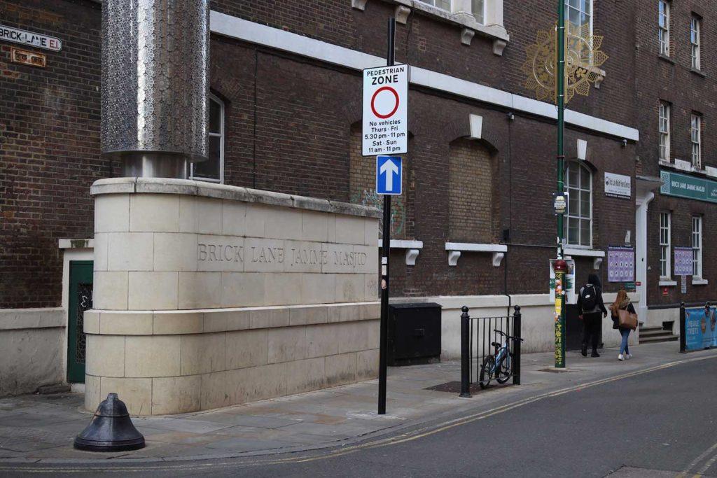 The Brick Lane Jamme Masjid is located on Brick Lane, Whitechapel, East London.